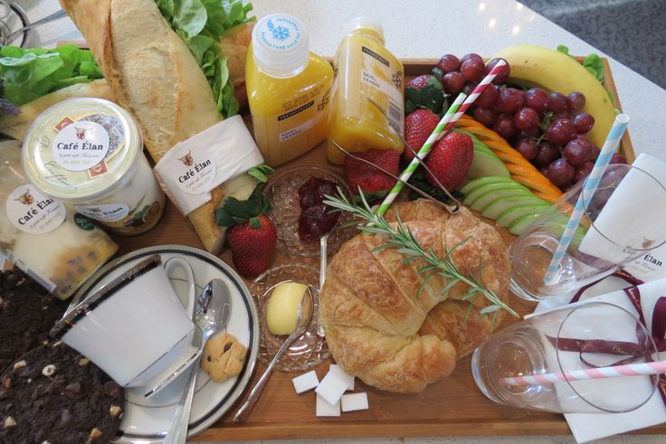Breakfast Basket - pre order before your stay at Chateau Elan! #CafeElan #ChateauElan #TheVintage #HunterValley #Australia #WineCountry #Luxury #5Star #Hotel #Resort