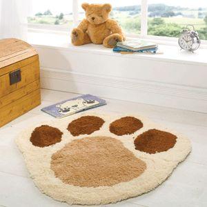 Childrens Nursery Puppy Paw Rugs