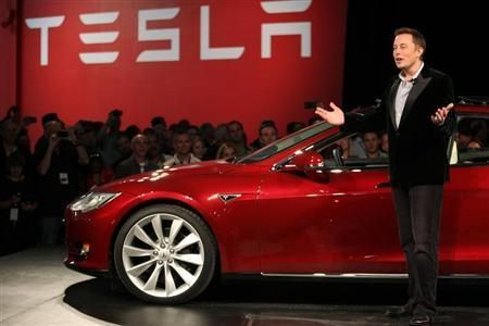 "Could batteries add $100 to Tesla's share price? Tesla Motors Inc. is set to announce a home battery and a ""very large"" utility-scale battery later this week, and Deutsche Bank says the market stil..."