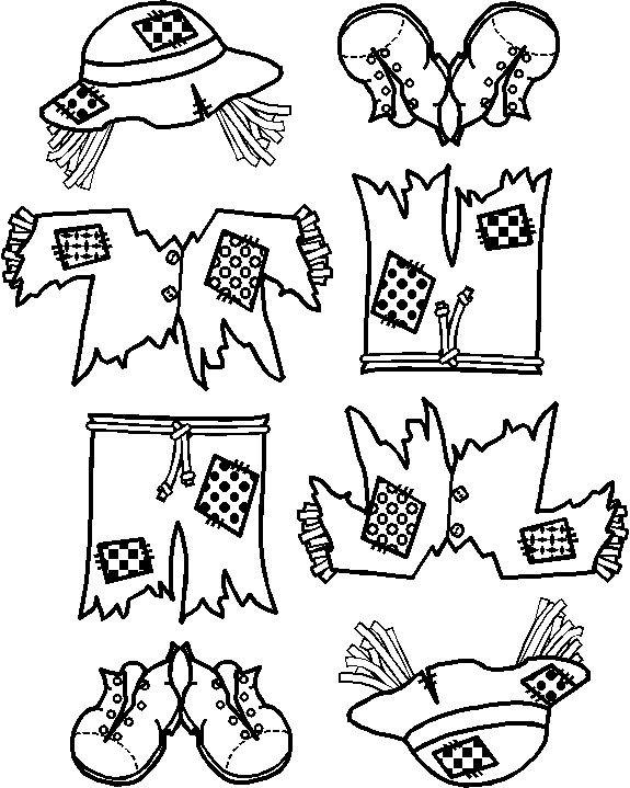 This is a template for kids to color their own way.  Would be really good for your glyphs you come up with during math.