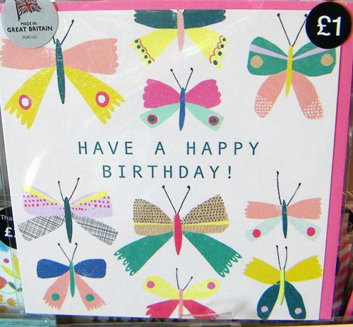 The 379 best everyday card inspiration images on pinterest marks spencer card snapped by print pattern blog m4hsunfo
