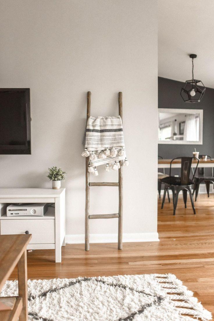 Blanket Ladder Idea Decor House Interior Scandinavian Interior Design