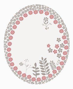 Miroir sérigraphié, Atelier LZC - Sélection d'objets déco motifs fleurs - Un des dernières créations de l'atelier LZC, ce miroir tout fleuri, idéal dans une chambre de jeune fille, ou une salle de bains rétro. Atelier LZC Miroir sérigraphié : 51 € www...