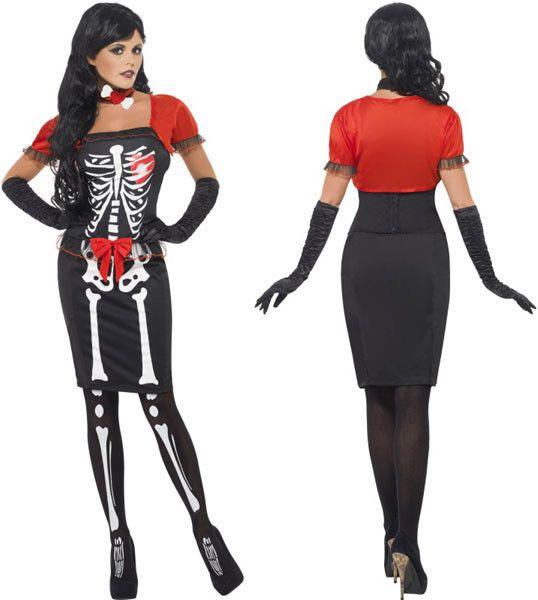 SM23139 Beautiful Bones Fancy Dress Skeleton Costume - features Beautiful Bones Costume with Corset  sc 1 st  Pinterest & Best 100 Halloween Costumes 2015 ideas on Pinterest | Halloween ...