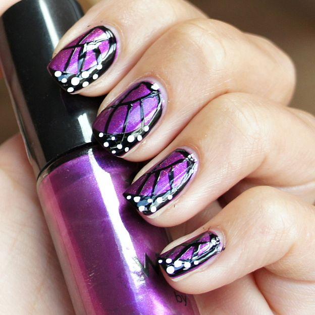 DIY : Butterfly wings nail art ( Dutch tutorial )