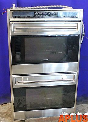 Wolf Wall Oven Twofold Convection Oven Electric 30 Model D030