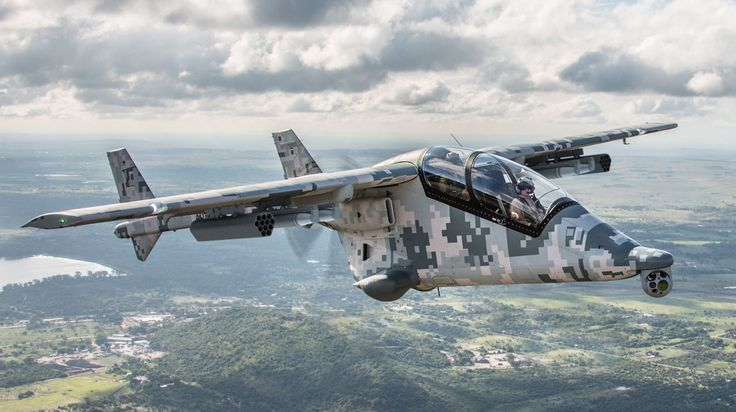 This Helicopter-Inspired Flier Is Africa's Home-Built Warplane