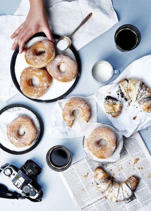 yum! donuts & croissants!