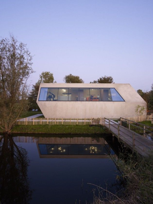 Dutch architectural firm VMX Architects have designed the SODAE-House in  Amstelveen.