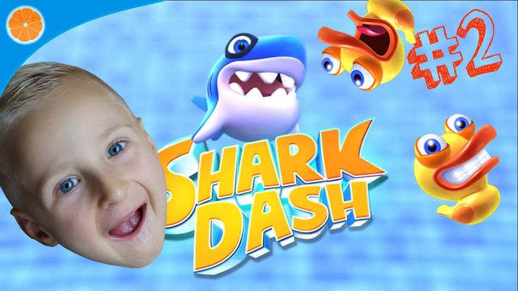 Let's play Shark Dash part 2 Game for Android iOS Blue Orange