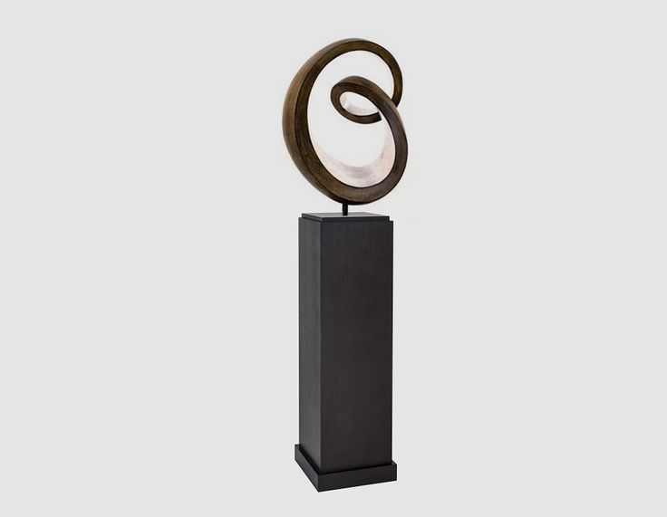 ALTA PEDESTAL  Dimensions: Width 220mm x Depth 220mm x Height 1100mm Available color: Wenge  Material: Oak Veneer  Condition: New, designed in Britain and produced to UK standard and well packed.  Our furniture is designed only for domestic and light commercial use only