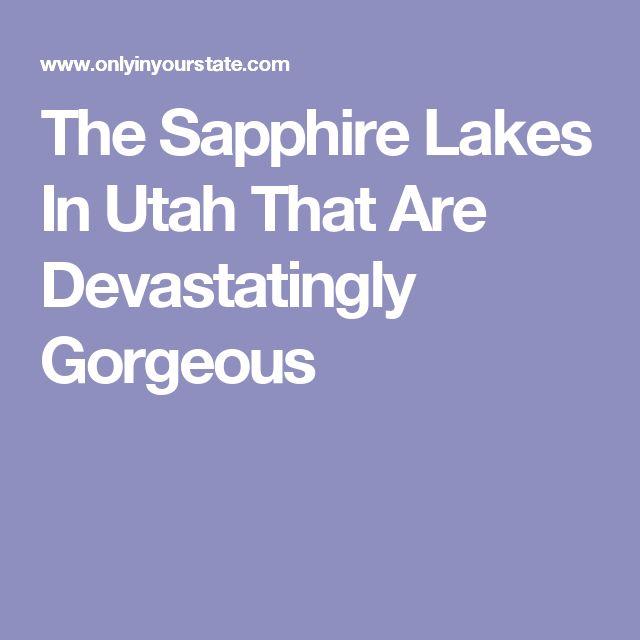 Around City Utah Lakes Cedar