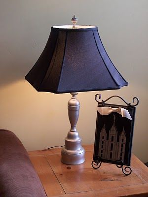 1000 images about brass lamp update on pinterest. Black Bedroom Furniture Sets. Home Design Ideas