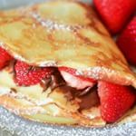 Nutella Strawberry Crepes nutella crepes instavideo vlog recipe tutorial share foodstyling foodphotography feedfeedchocolateFor full recipe and instructions please click on the link in profile