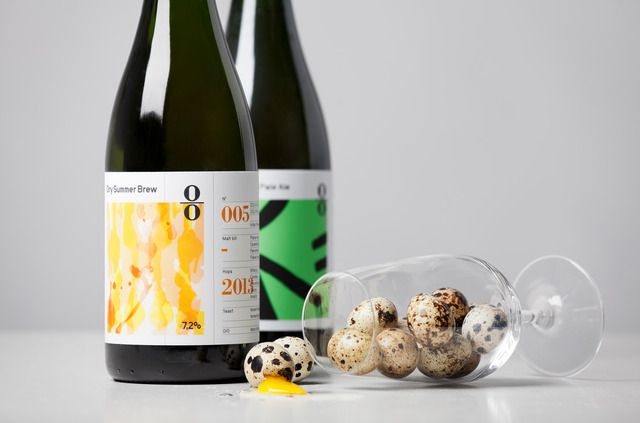 Lundgren+Lindqvist: Art Direction for O/O Brewing, Launch Campaign