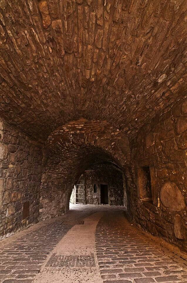 we walked down this corridor- 2015 Stirling Castle, Scotland http://www.stirlingcastle.gov.uk/