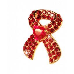 Charity Aids-Schleife. Der Erlös kommt der Berliner Aids-Hilfe e.V. zugute. www.ricardam.com
