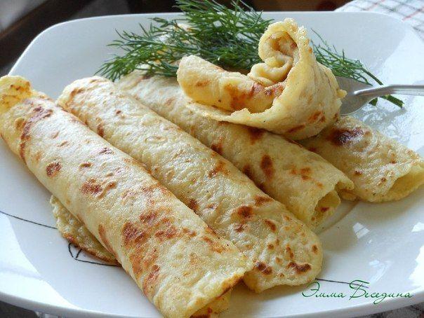 Прекрасная альтернатива блинчикам и лавашам))) Очень вкусно!! И при этом готовить их очень просто!!! Попробуйте и Вы!!рецепт:0,5 кг картофеля, 125 г муки, 0,5 ч.л. соли.Мука для присыпки - 2-…