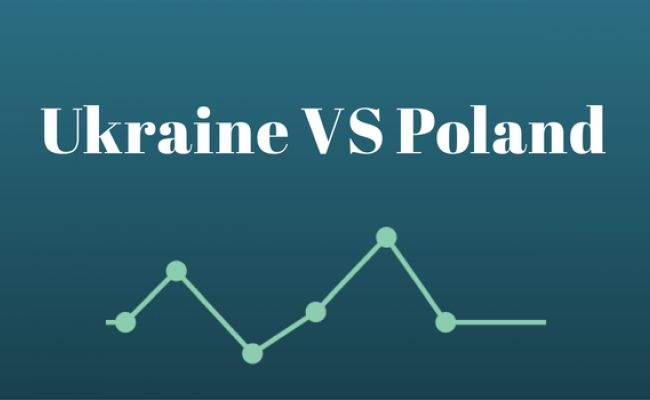 Ukraine vs Poland by GDP 1990-2012 | Reinis Fischer