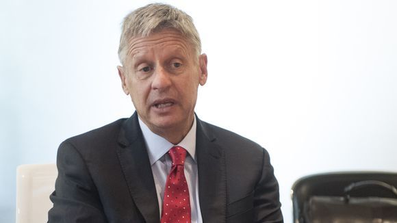 Libertarian presidential candidate Gary Johnson is unable to name a single world leader.