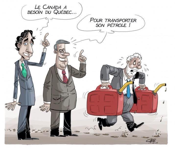 Transporter le pétrole sale du Canada