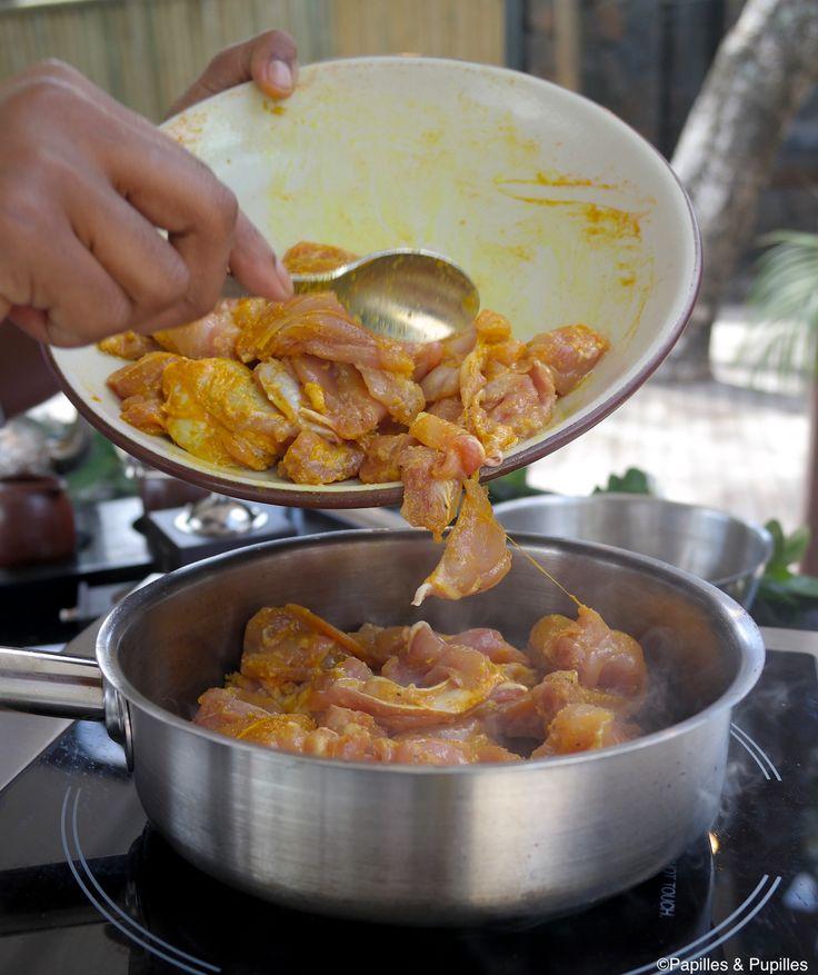Curry de poulet au garam masala
