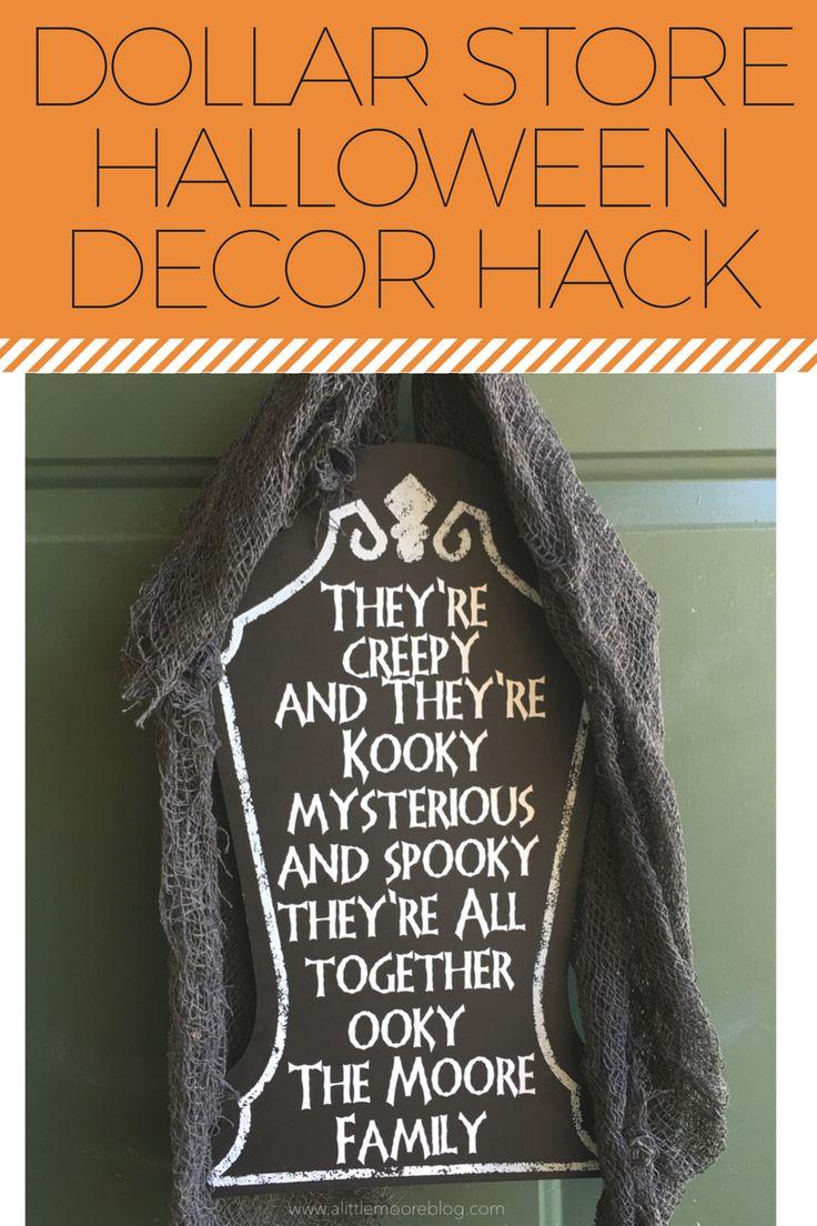 Best Halloween Images On Pinterest Halloween Decorations - Cool chalkboard halloween decor