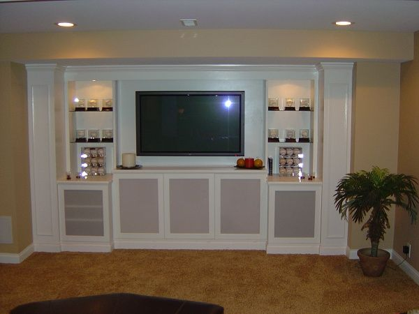 Built in design ideas helpful ideas for built in media for Built in cabinet design