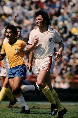 Gerry Francis England 1976