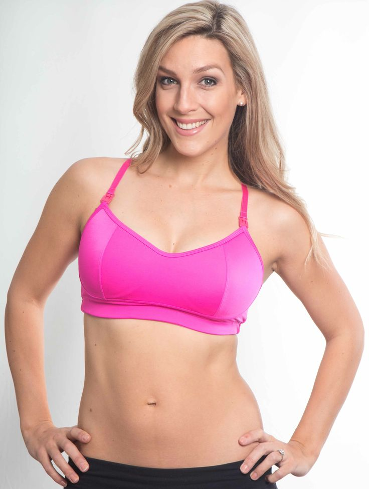 ACTIVEWEAR BRA DESIGNED SPECIFICALLY FOR ACTIVE NEW MUMS. PERFECT TO WEAR WHILE BREAST FEEDING AND MAINTAINING AN ACTIVE LIFESTYLE. *2cm wide straps on sizes L and XL *Adjustable hook and eye closure *Easy clip down to allow for breastfeeding *Full cover sling for modesty *Lightly padded to protect against leaks and provide extra comfort. Please …