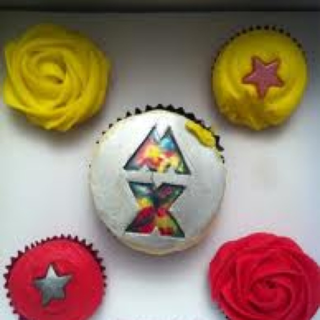 Coldplay cupcake i want these for my birthday best