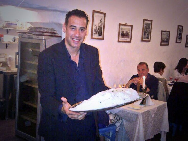 Il pesce al sale!  www.ubais.it