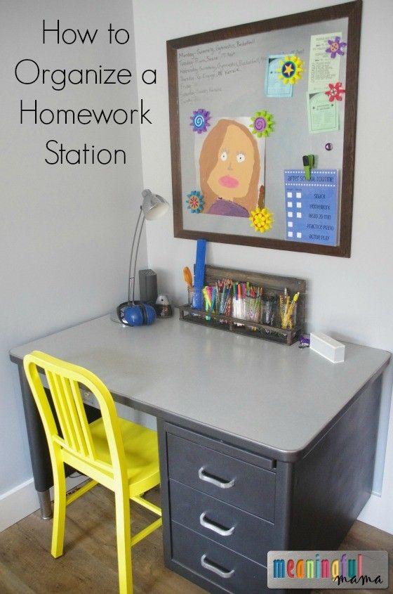 733blog homework station