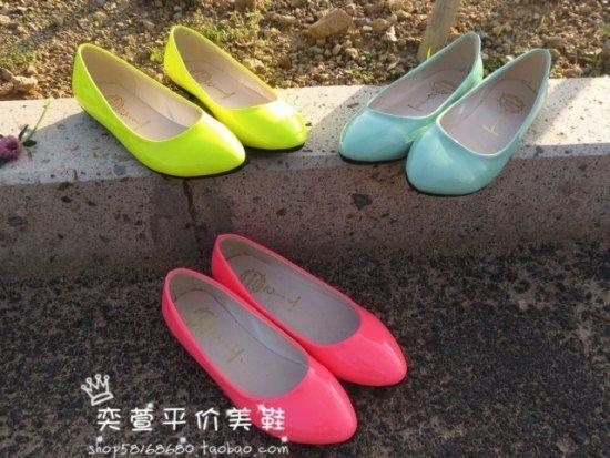 Разноцветные туфли без каблуков - CHERKIZON