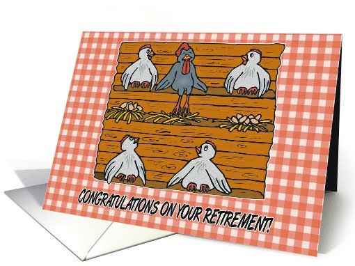 Congratulations On Your Retirement! card