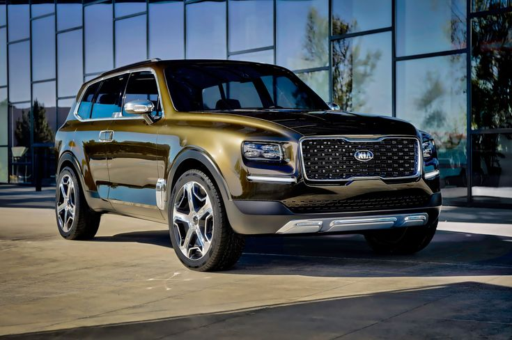 The Kia Telluride Concept, which was originally shown at the 2016 Detroit auto show, has reportedly been confirmed for production.