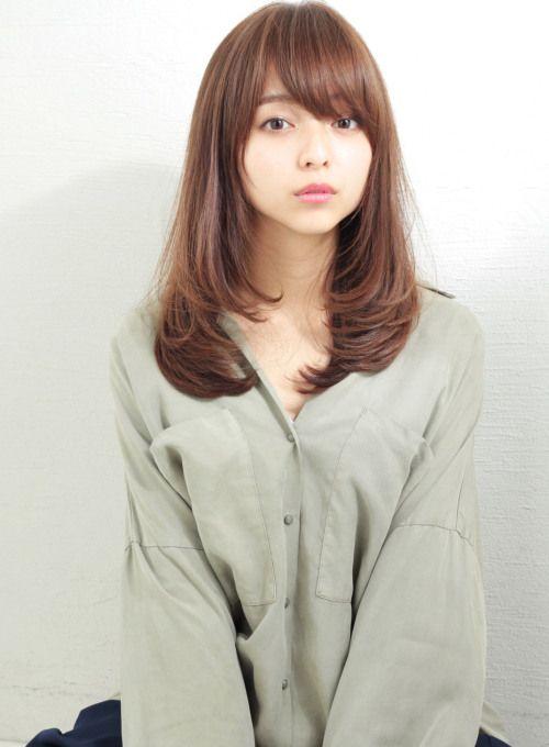 スタイリングが簡単なゆるふわセミロング【XELHA】  http://www.beauty-navi.com/style/detail/52960?pint  ≪#longhair #longstyle #longhairstyle #hairstyle #ロング #ヘアスタイル #髪型 #髪形≫