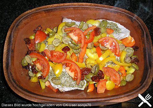 Paprikaschnitzel aus dem Römertopf