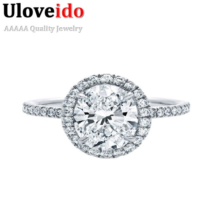Find More Rings Information about 49% Off Fashion Engagement Cubic Zirconia Rings for Women 2016 Womens Jewellery Ring Silver Plated Anillos De Plata Ulove WH032,High Quality ring cut,China ring fingertip Suppliers, Cheap ring bracelet from ULove Fashion Jewelry Store on Aliexpress.com