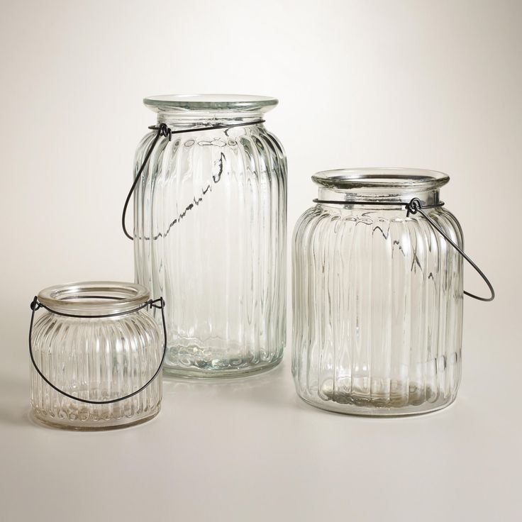 Take Mason Jars A Step More Elegant With These Jars