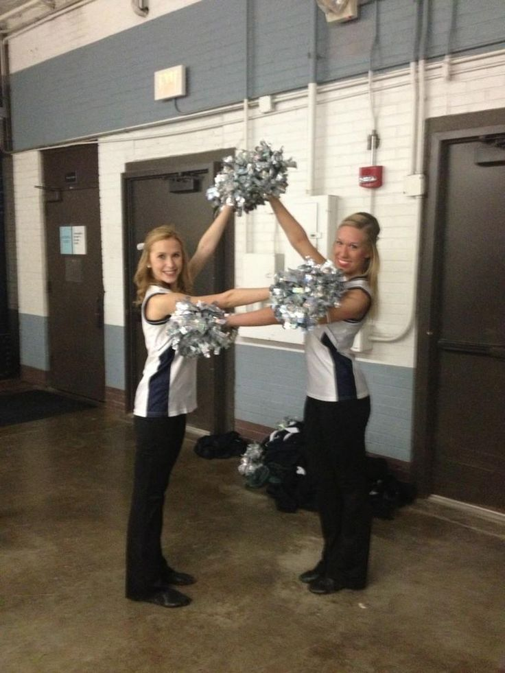 Butler sisters cheer on the Bulldogs as part of the BU Dance Team.
