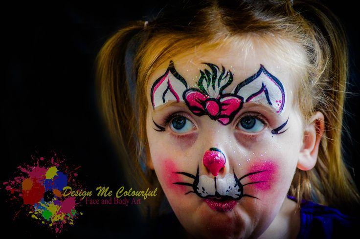 Girls Face Paint  Kitty