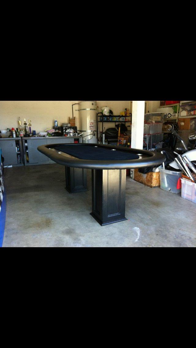 Diy Poker Table Poker Table Pinterest Poker Table Poker And Game Rooms