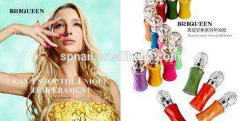 BRIQUEEN Easy Remove UV Gel Nail Polish At Home Brand New Nail Polish Accept OEM and ODM gel nail polish polish nail art