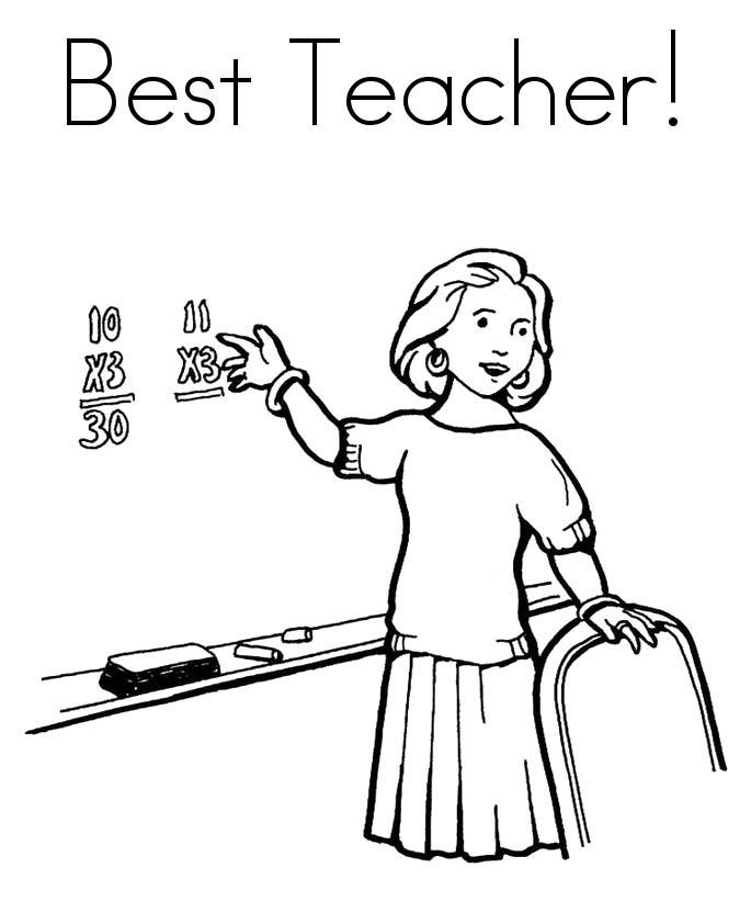 Best Teacher Coloring Pages People Coloring Pages Free Clip Art Super Coloring Pages
