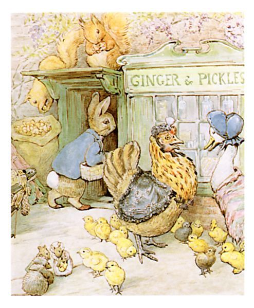 A Tale of Ginger & Pickles - by Beatrix Potter