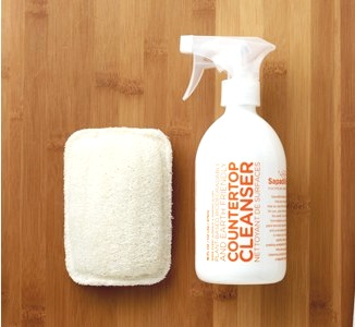 Grapefruit + Bergamot countertop cleaner...who knew natural green cleaning could be such a beautiful thing?