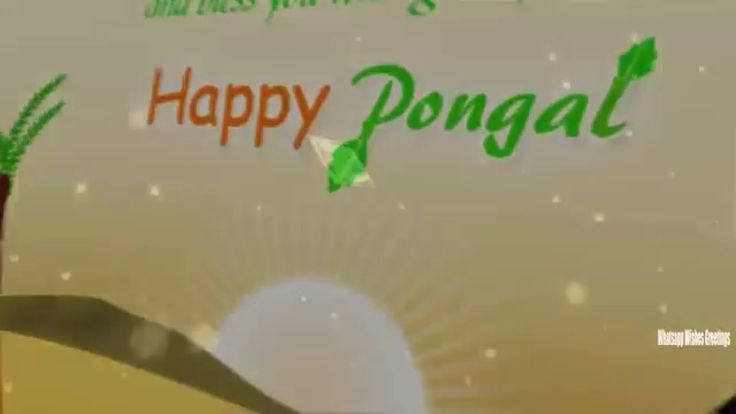 Happy pongal 2016 Greetings | Happy pongal 2016 Latest Wishes/Greetings,...