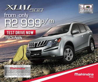 Buy a Mahindra XUV500 SUV in South Africa from Only R2999 per month. Terms and conditions apply.