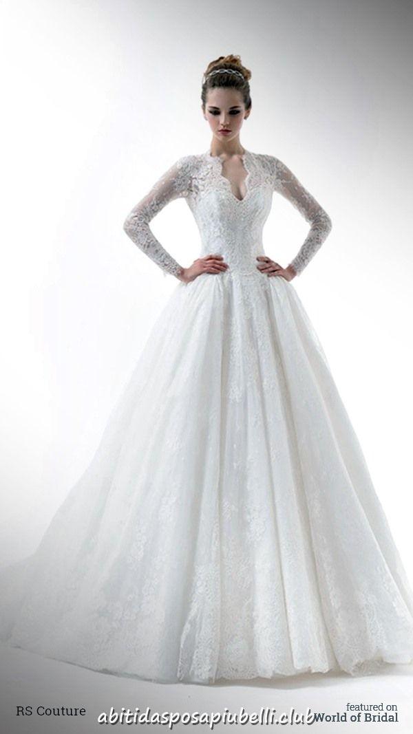 2e19cb2251a3 Abiti da sposa RS Couture 2018 Renato Savi  abiti  couture  renato  sposa